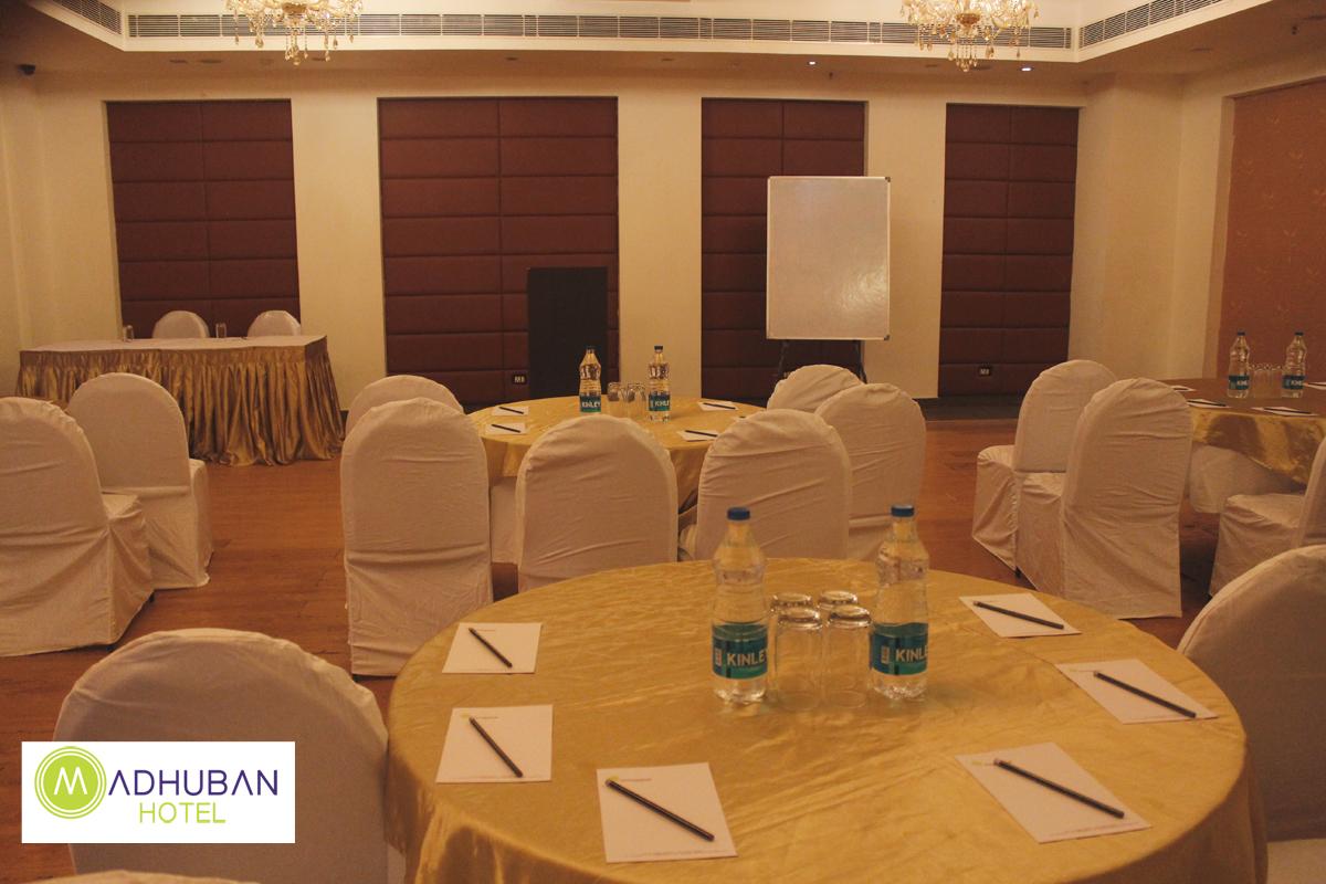 banquet hall madhuban hotel